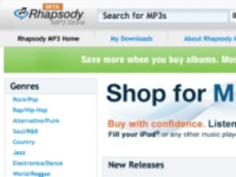 Rhapsody s'attaque à iTunes Store avec la vente de MP3 sans DRM