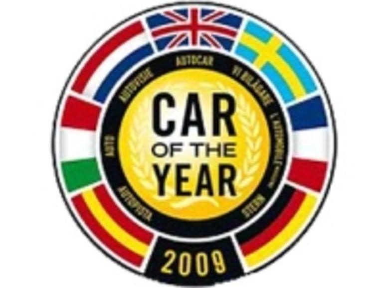 Vaste choix pour l'élection de la voiture de l'année 2009