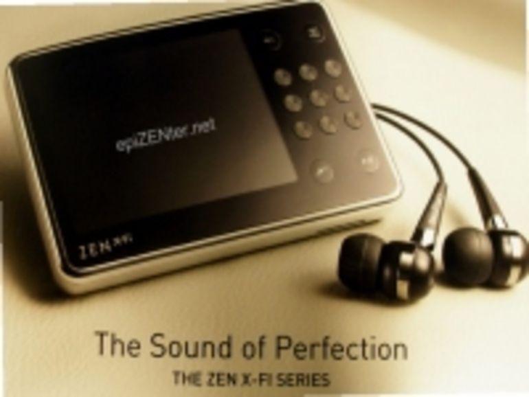Creative met du X-Fi dans son prochain baladeur Zen
