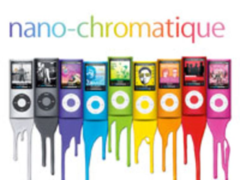 Vidéo de l'iPod Nano Chromatique