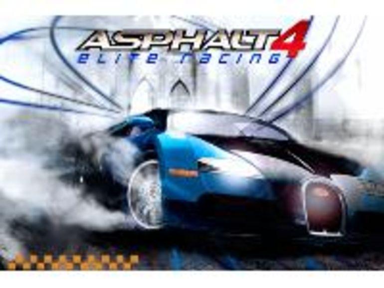 Gameloft Asphalt 4 pour iPhone et iPod touch
