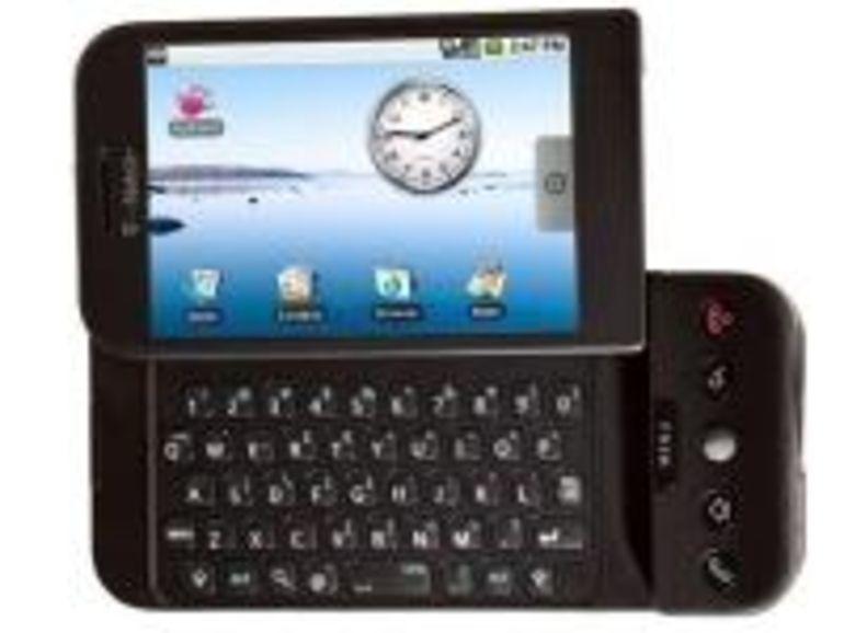 Prise en main virtuelle du G1 de T-Mobile