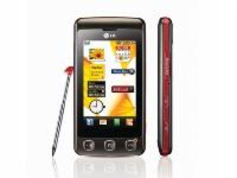 LG KP500, le téléphone tactile d'entrée de gamme