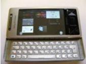 Prise en main du Sony Ericsson Xperia X1