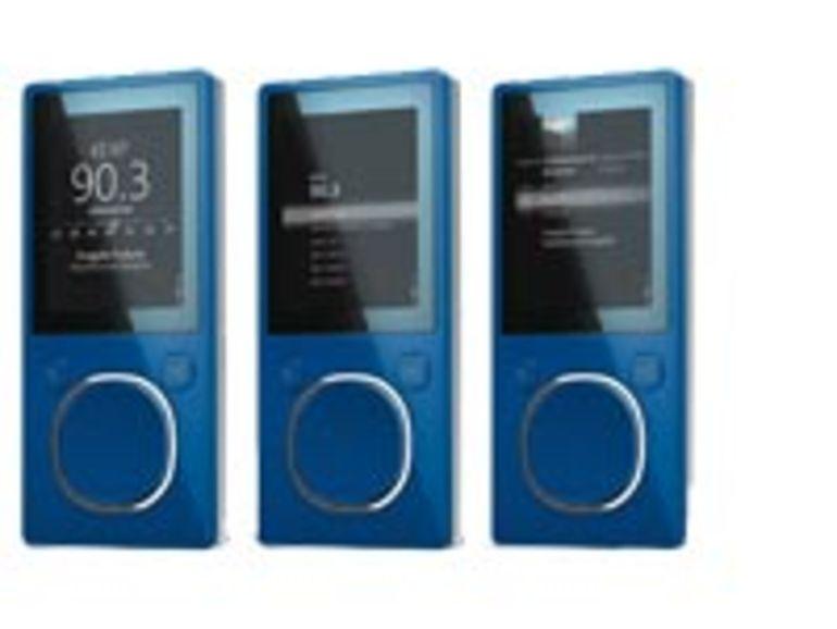 Microsoft réplique à Apple avec son nouveau Zune