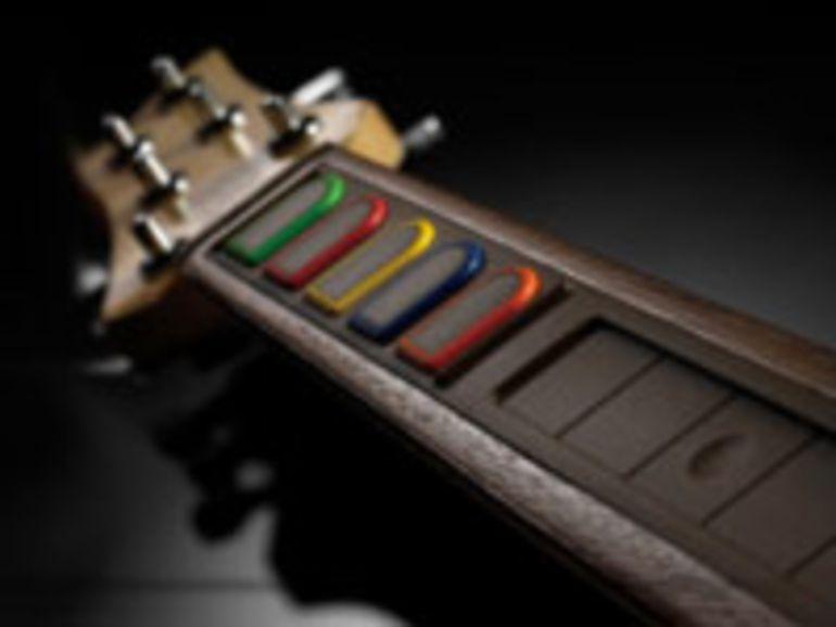 Logitech signe une guitare haut de gamme pour Guitar Hero