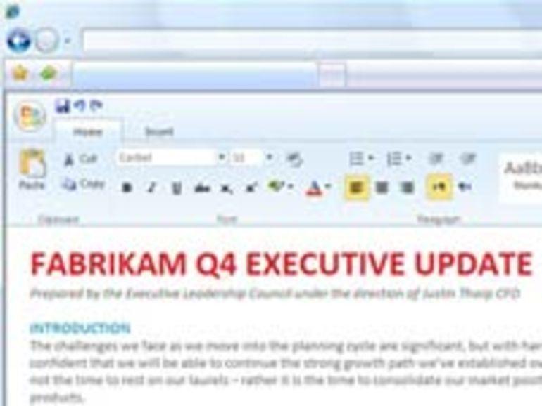 Office 14 ne devrait pas sortir avant 2010