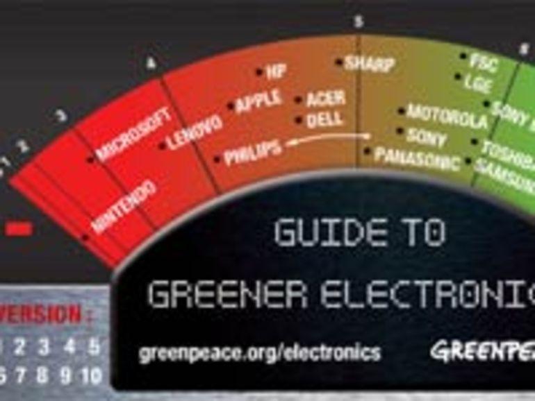 Environnement : Greenpeace épingle Microsoft et Nintendo et distingue Nokia