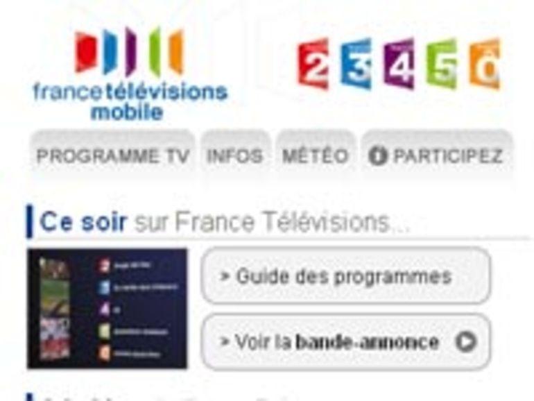 France Télévisions inaugure son portail TV gratuit pour les smartphones