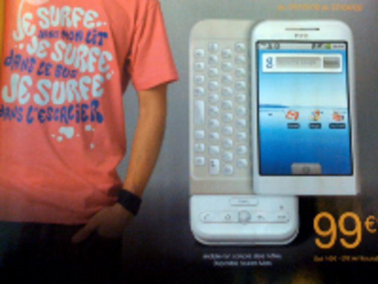 Orange proposerait le HTC Dream G1 à 99 euros dès le 5 mars ?