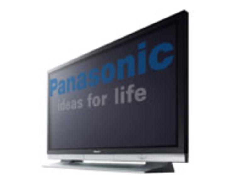 Panasonic annonce des téléviseurs plasma verts