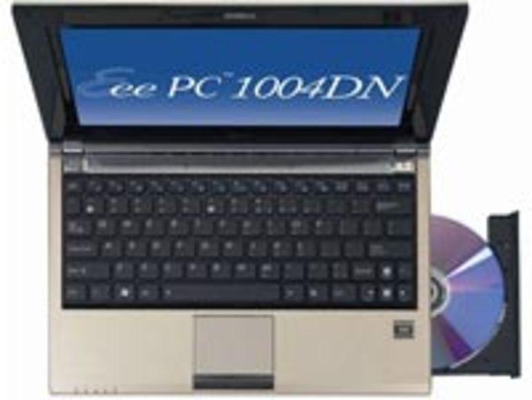 Eee PC 1004 DN : netbook avec lecteur-graveur de DVD