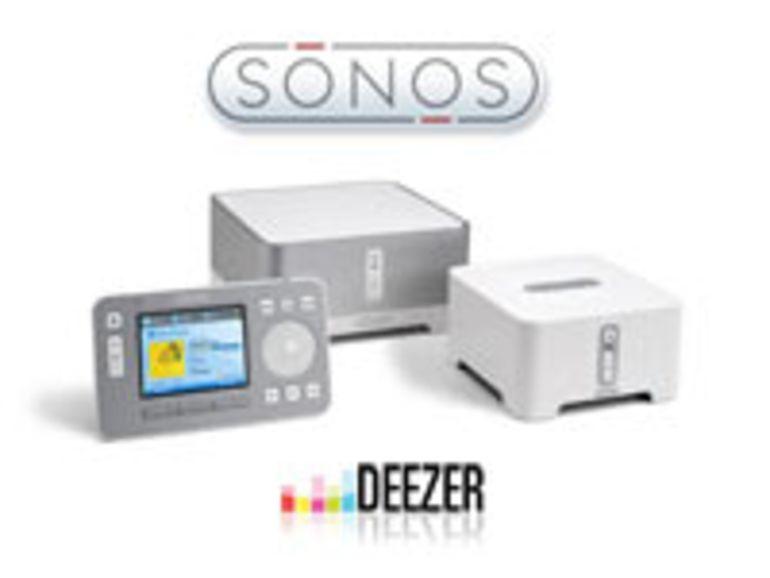 Avec Sonos, Deezer s'affranchit de l'ordinateur
