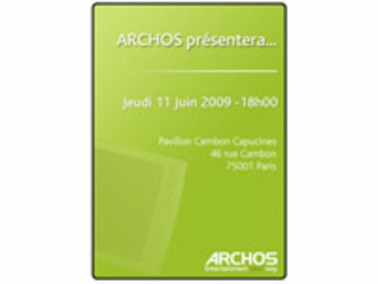 Archos : une tablette Internet Androïd présentée le 11 juin ?