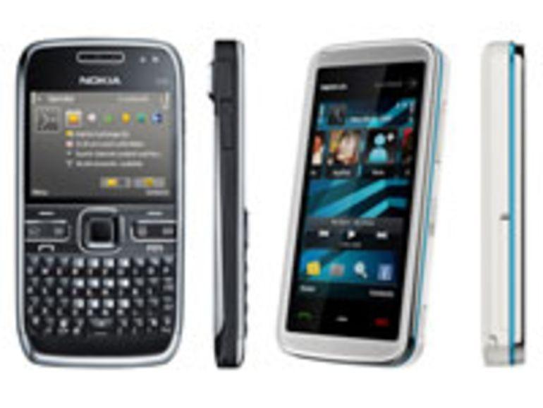 Nokia joue la diversité avec les nouveaux E72 et 5530 XpressMusic