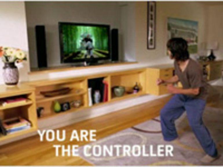 CES 2010 - Microsoft officialise Natal sur Xbox en 2010