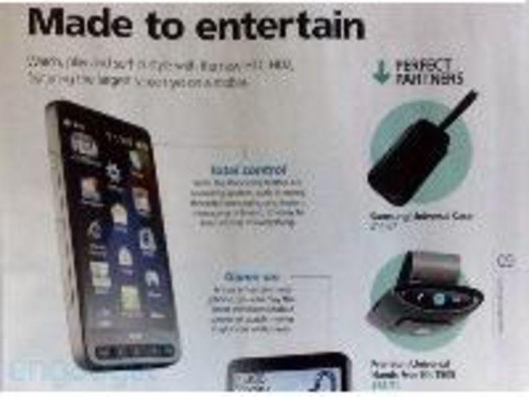 HTC HD2 officialisé par l'opérateur O2