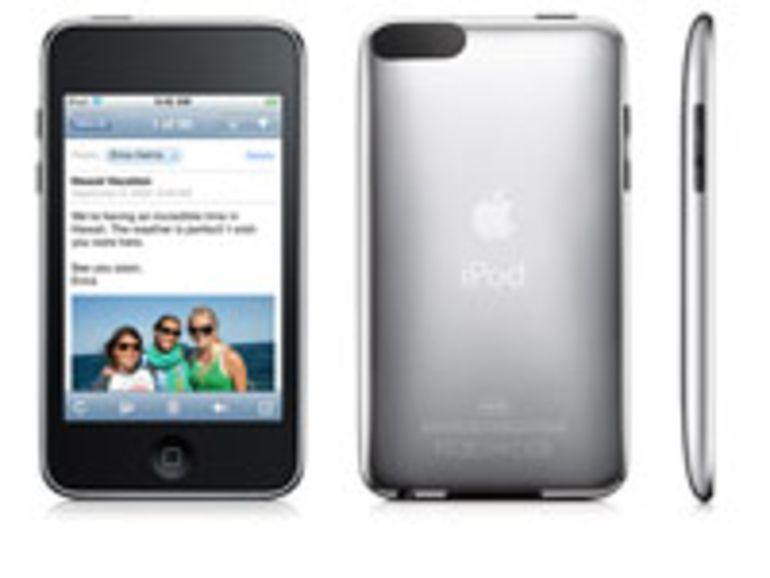 L'iPod touch cache un emplacement pour capteur photo et le Wi-Fi n