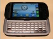 Prise en mains en images du LG GW620 Android