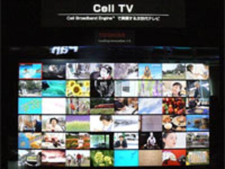 Toshiba : les TV équipées du processeur de la PS3 disponibles à Noël