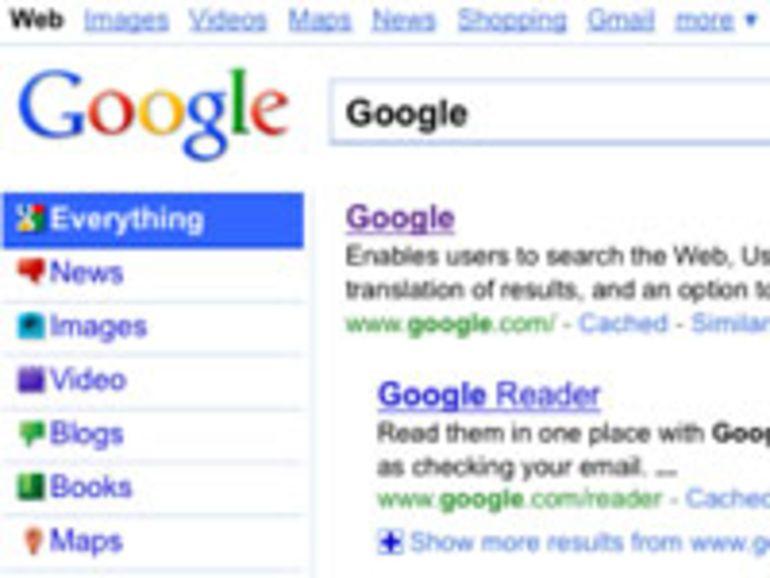 Google prépare une nouvelle interface pour son moteur de recherche