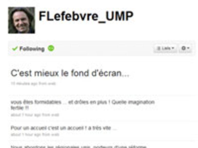 Twitter : le compte de Frédéric Lefebvre suspendu à son insu