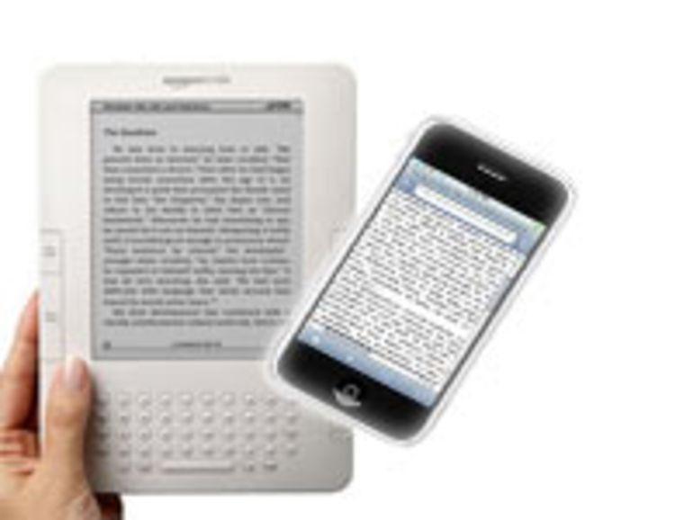 L'application Kindle pour iPhone disponible
