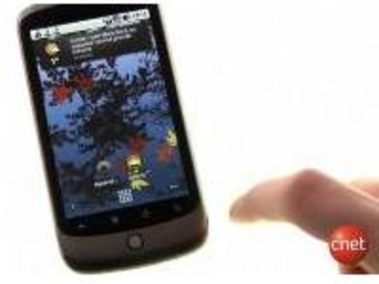 Un écran de Nexus One brisé, même problème que l'iPhone ?