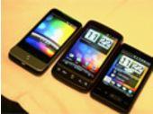 MWC 2010 - HTC Legend, HTC Desire et HD Mini en vidéo