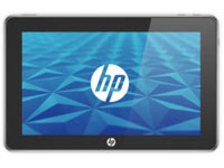 HP Slate 500 : la tablette d'HP est de retour