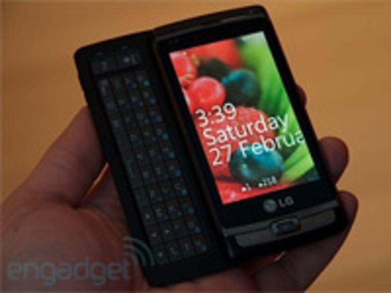 Le LG Panther sous Windows Phone 7 se dévoile sur le Web
