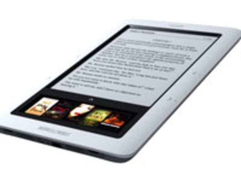 Lancement de la version Wi-Fi du Nook, le lecteur eBook de Barnes & Noble