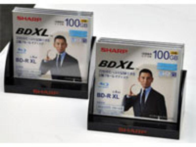 Premiers disque Blu-ray de 100 Go chez Sharp