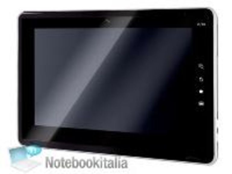 La tablette Toshiba SmartPad en photo