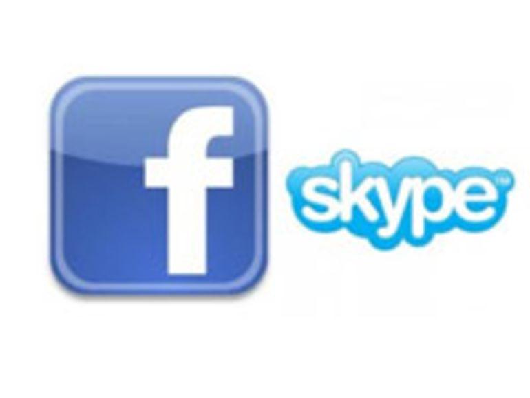 Facebook : bientôt une fonction vidéo chat avec Skype ?