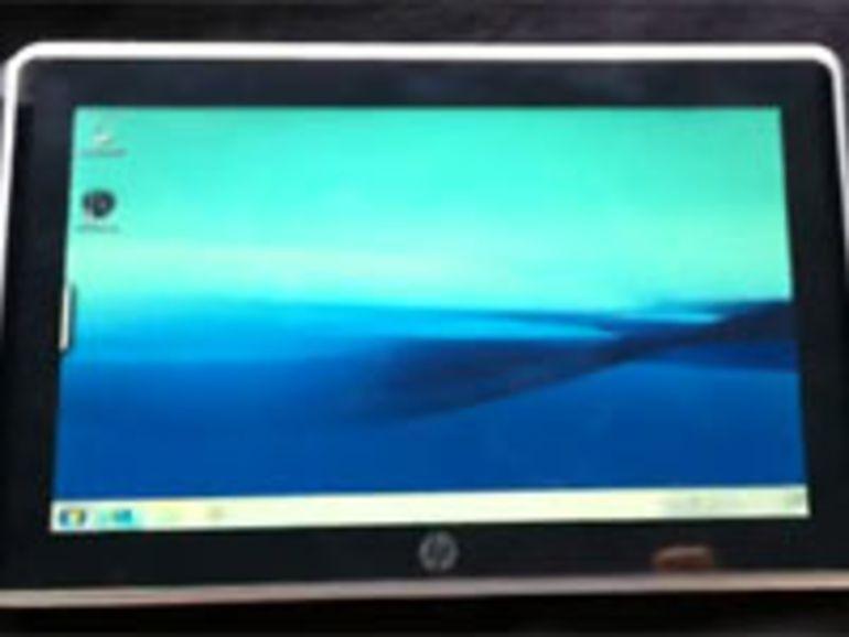 La Slate de HP sous Windows 7 se dévoile en vidéo ?