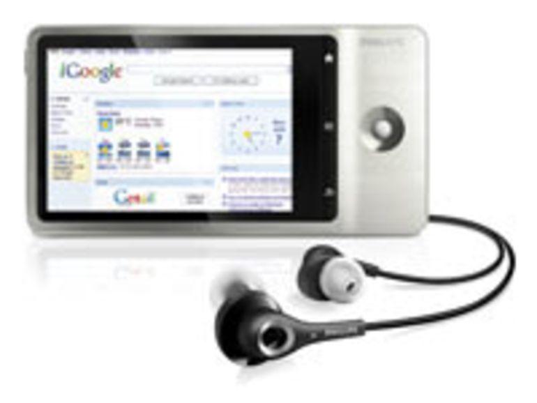 IFA 2010 - Philips GoGear Connect, un baladeur multimédia connecté sous Android