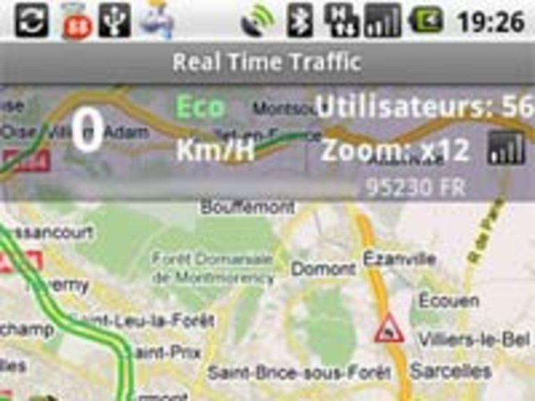 Loïc Monthorin concepteur de l'application Real Time Traffic pour Android