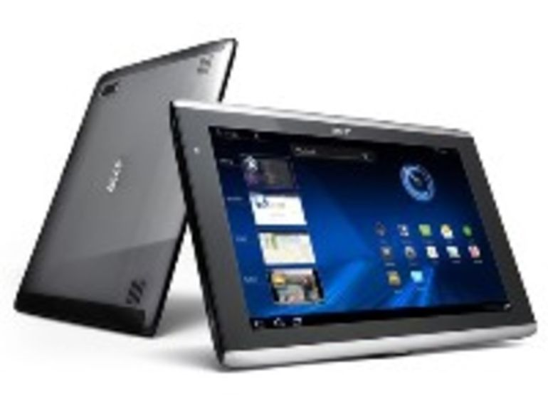 Acer Iconia Tab A500, première tablette Android Honeycomb disponible en France