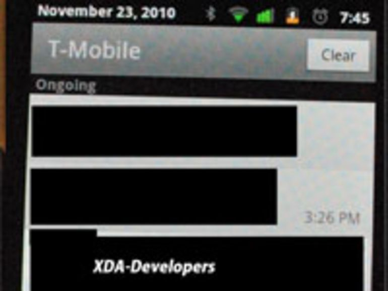 Premières photos du Nexus S, le nouveau Google Phone conçu avec Samsung