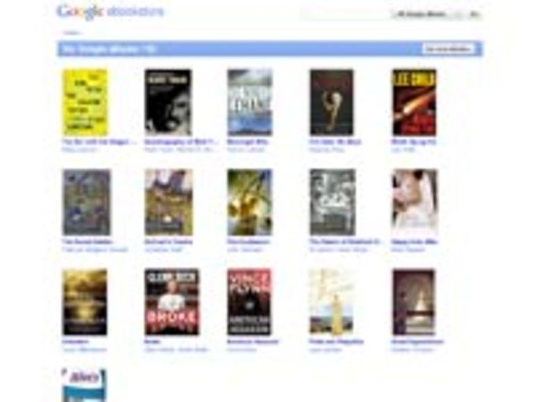 Google eBooks disponible aux États-Unis