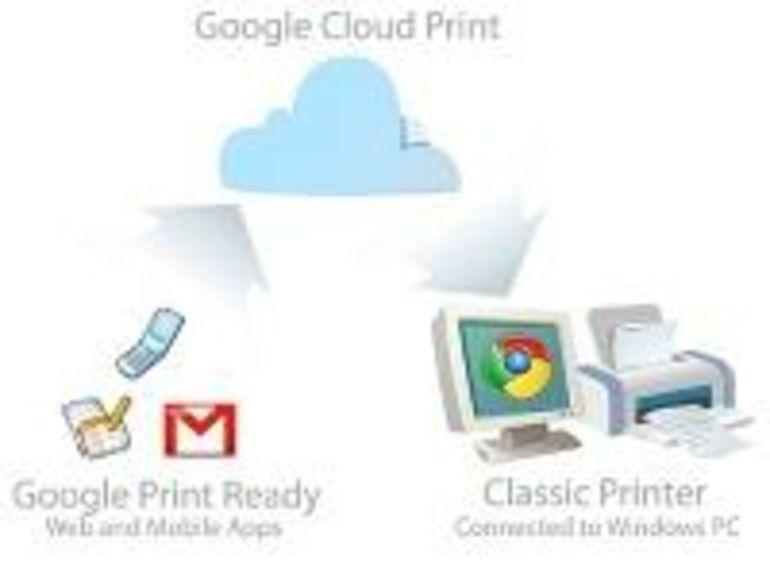 Google Cloud Print: un système d'impression pour iPhone et Android