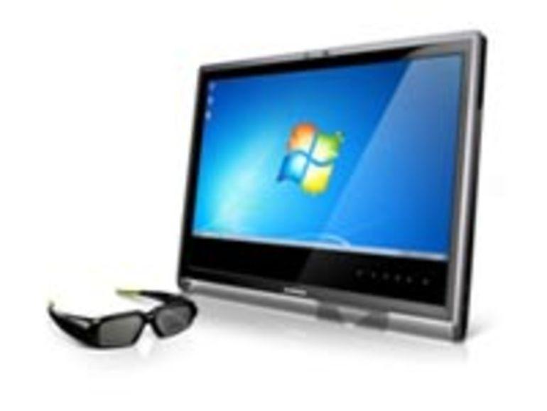 CES 2011 : Lenovo présente son moniteur 3D 23 pouces L2363d