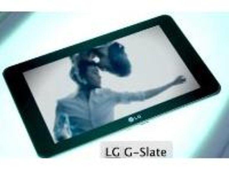 LG G Slate: une tablette 3D pour le Mobile World Congress 2011 ?
