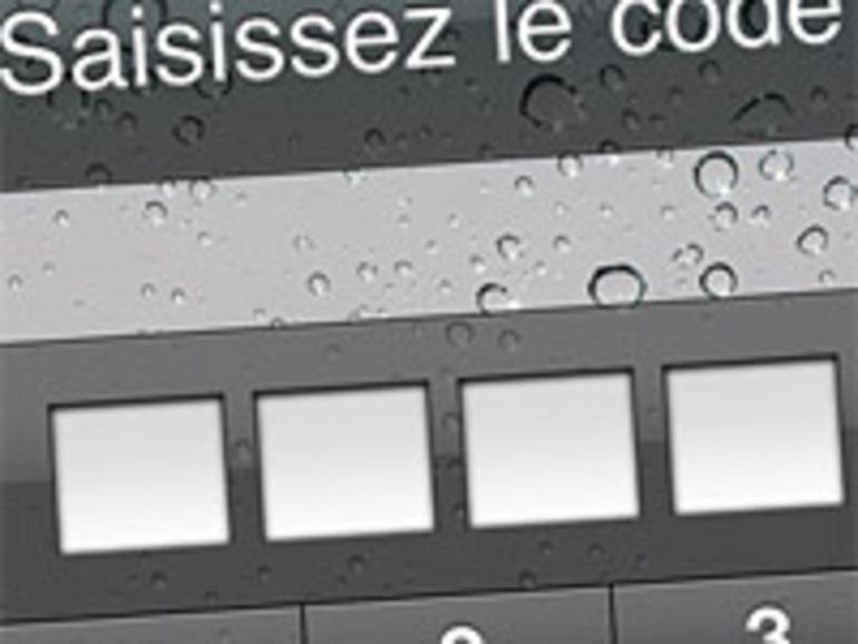 Vol des mots de passe d'un iPhone en 6 minutes