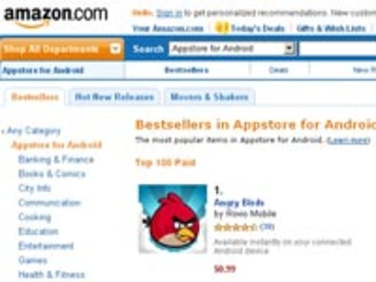 Amazon ouvre son Appstore pour Android