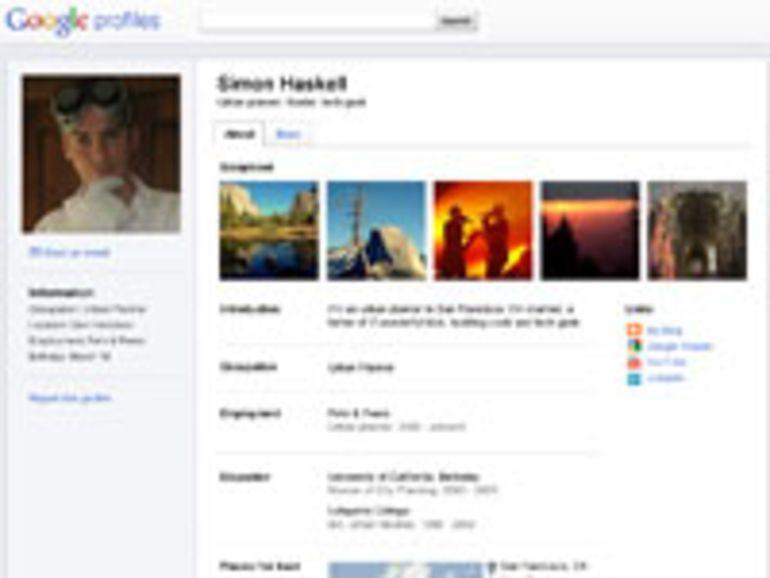 Google améliore l'interface des profils utilisateurs publics