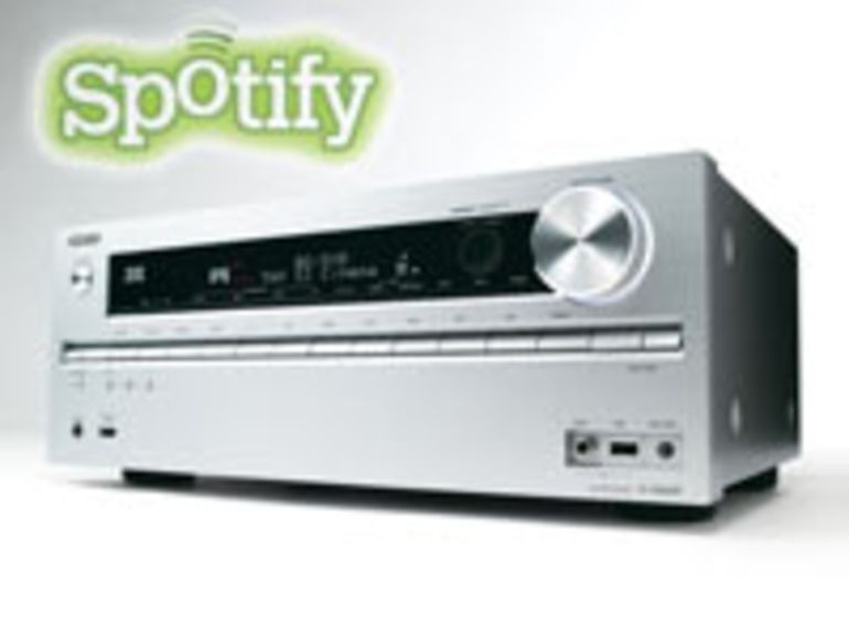 Onkyo TX-NR609, un ampli avec accès direct à Spotify