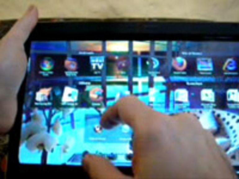 Un Windows 7 optimisé pour tablette tactile
