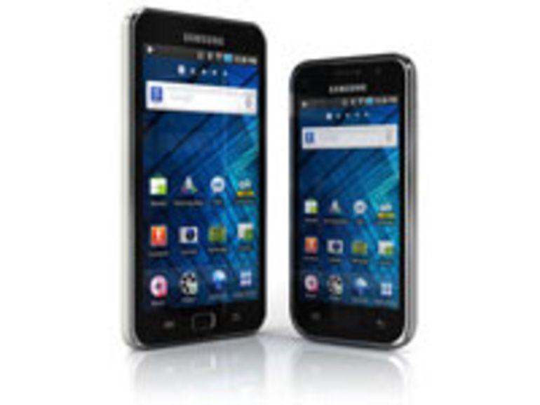 Samsung présente ses nouveaux baladeurs Android Galaxy S WiFi 4.0 et 5.0